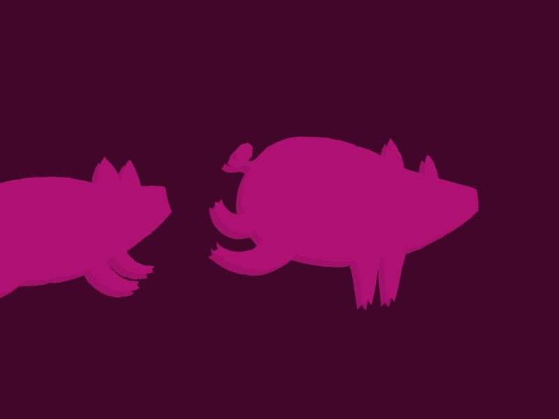 Oh Yes, Pigs Can Fly – If You Kick Them Hard Enough
